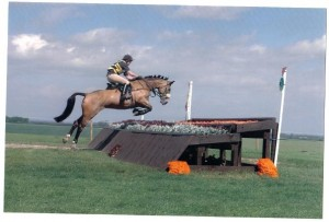No pictures of our first BE but this one is from our second outing in the pre-novice at Bishop Burton