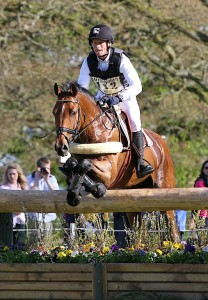 Michael Jung riding Sam who went as far as to cross his legs!