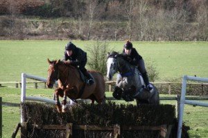 You may not get the chance to school over fences, but you can learn an awful lot from riding on the flat.