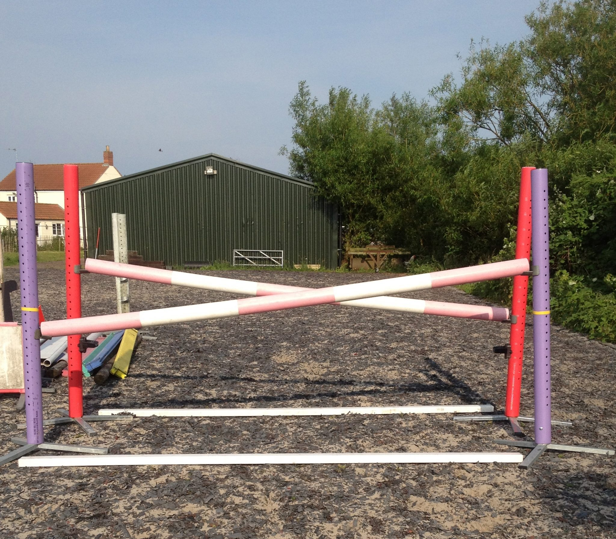Tip Of The Day A Fence To Encourage Straightness E Venting