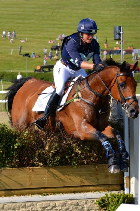 Piggy French on route to CIC*** victory on Tinkas Time. Photo © Vicky Davis