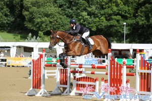Alex Postolowsky riding the impressive Wutella to 5th in the CCI**