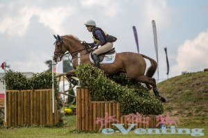New CCI*** leaders Aoife Clark on Fenyas Elegance