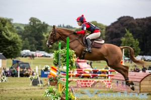 Caroline Dyer riding Fernhill Bright Echo finish 3rd whilst also receiving the Style and Veteran awards.