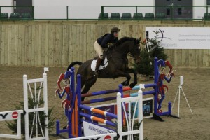 The arenas are usually very full and the fences are bright. Make sure your horse is used to this sort of challenge.