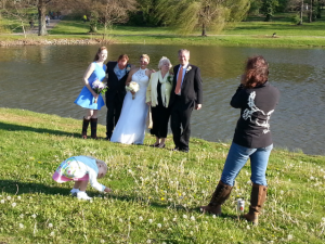 Ellen Doughty Wedding Photo at Rolex 2014