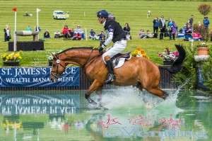CIC** Section C Winner William Fox-Pitt riding Top Biats