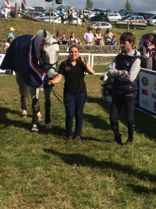 Winning Open horse Avebury