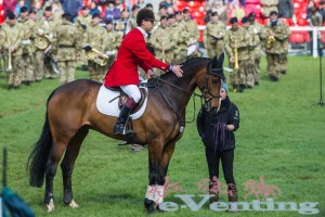 Harry Meade at Badminton 2014 where he finished 3rd.