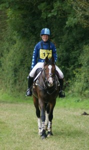Two happy customers after the XC phase of the riding club open champs