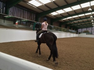 The amazing 'Mary King' indoor arena at Nottingham Trent Uni