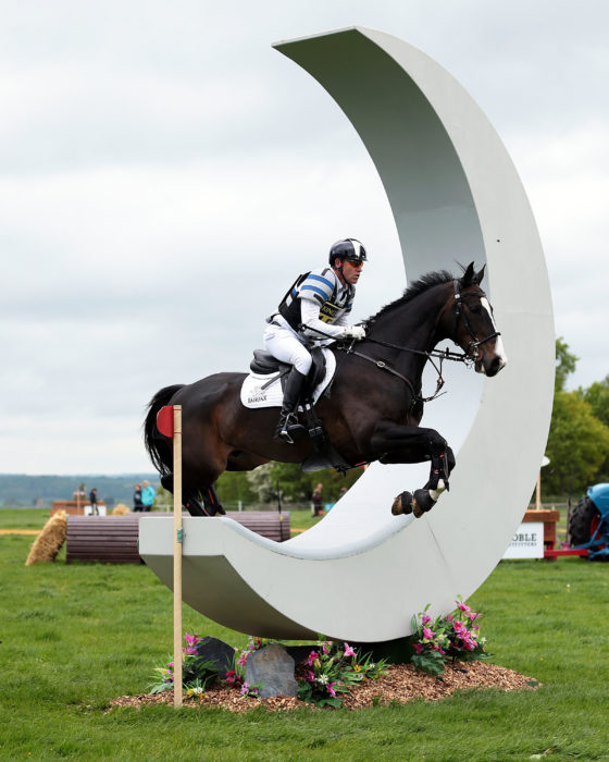 Photo: Malcolm Swinden Photography - Mal Swinden CIC** Andrew Hoy (AUS) on Kung Fu Panda GP at Rockingham on Saturday 21st May 2016. ©Malcolm Swinden Photography Tel +44( 0)7403 468122. email malcolm.swinden3@btinternet.com, 14 Roses Close, Wollaston, Wellingborough, NN29 7ST