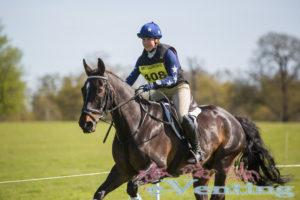 BE90 2nd place Jessie Vanassche riding Da Vinci II