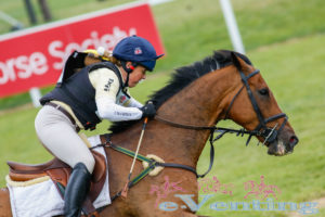 BillyBerry going XC with Pippa Funnell at Barbury
