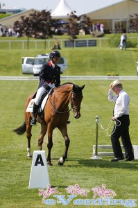 Mary King returns from a medical suspension to sit in 3rd overnight in CIC*** section B on Imperial Cavalier
