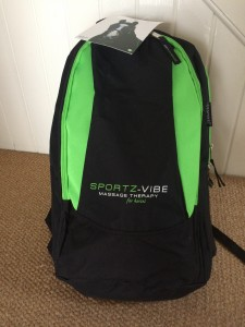 Really handy rucksack - useful for storing all kinds of stuff in! I put the normal cooler I use in here whilst the horse was wearing the Sportzvibe.
