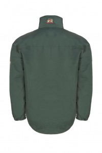 The PC Racewear Original jacket, showing the shaped back hem.