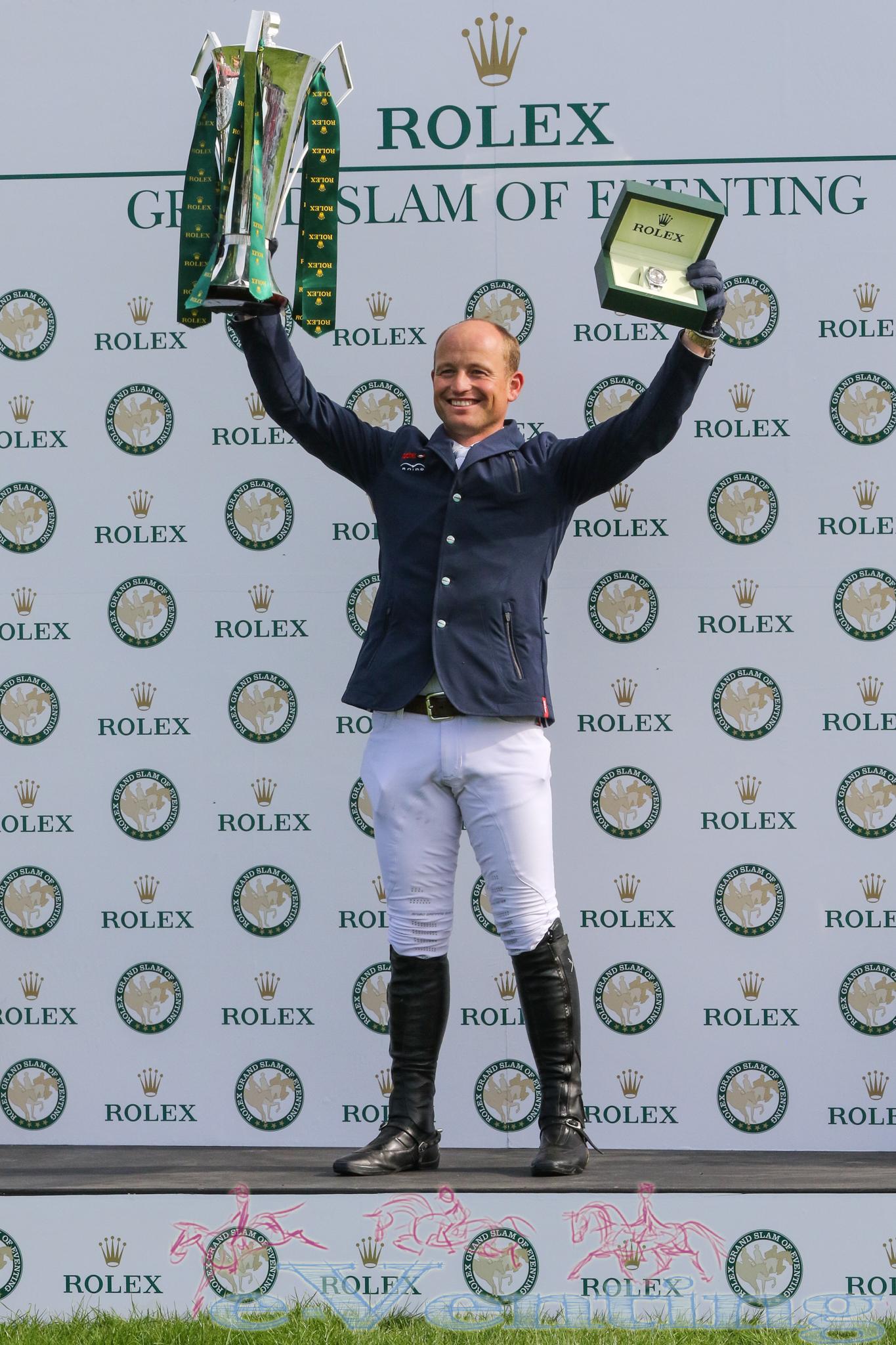 Michael Jung, Rolex Grand Slam of Eventing Winner